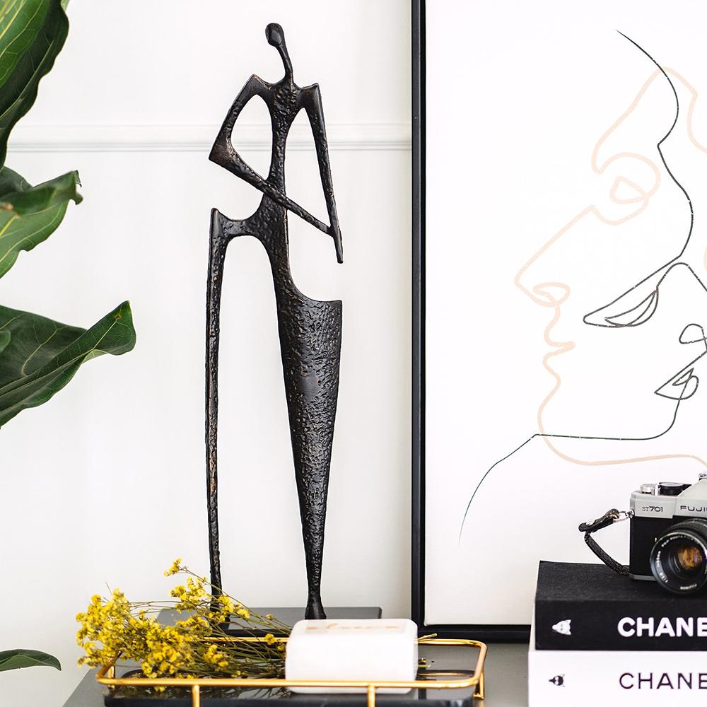 Pablo Rodin Decorative Dancing Sculpture