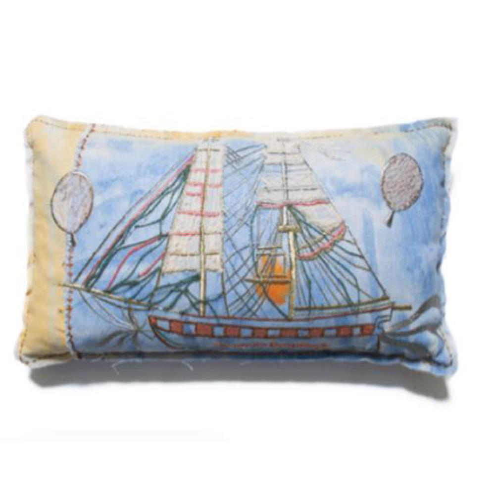 Bokja The Boat People Cushion