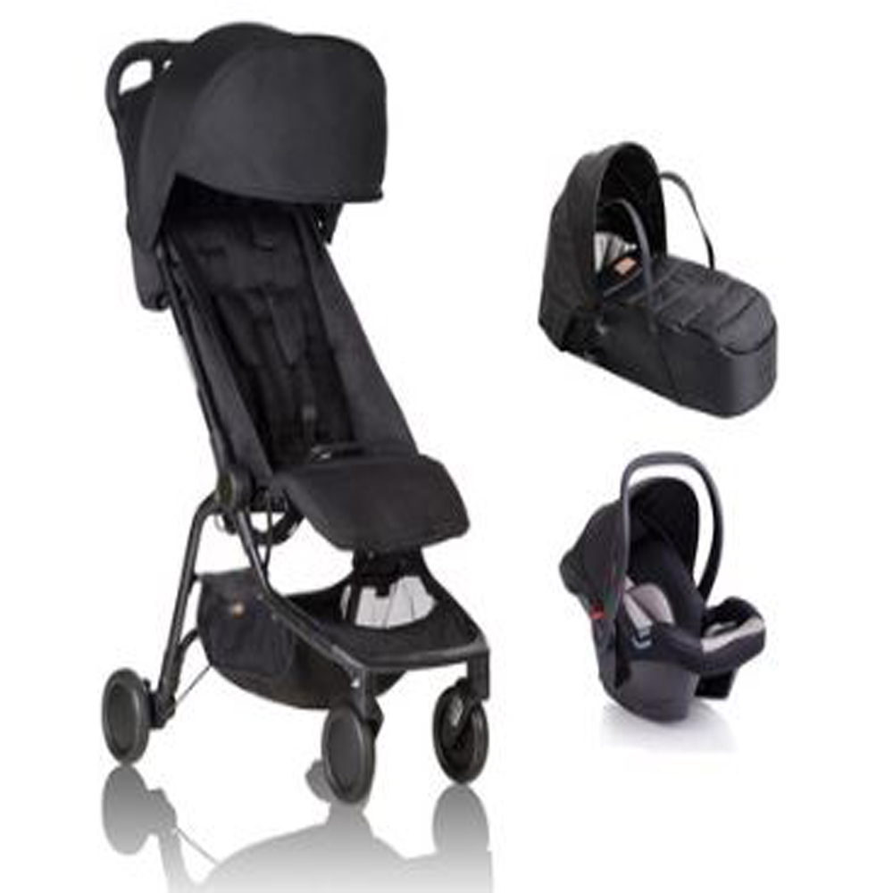 Nano Full Newborn Bundle (With Free Nano Seat Liner And Extra Canopy)
