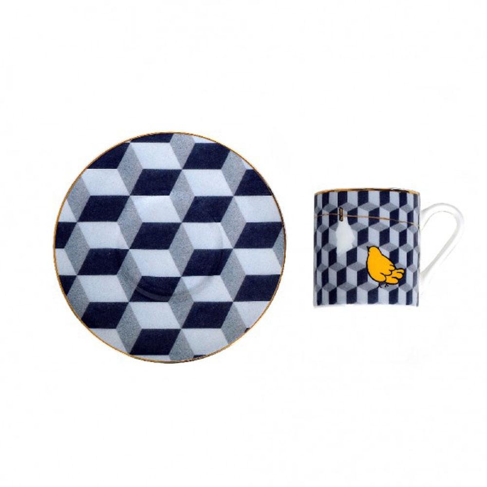 Zarina Paradis Perdu Espresso Cups - Set of 6