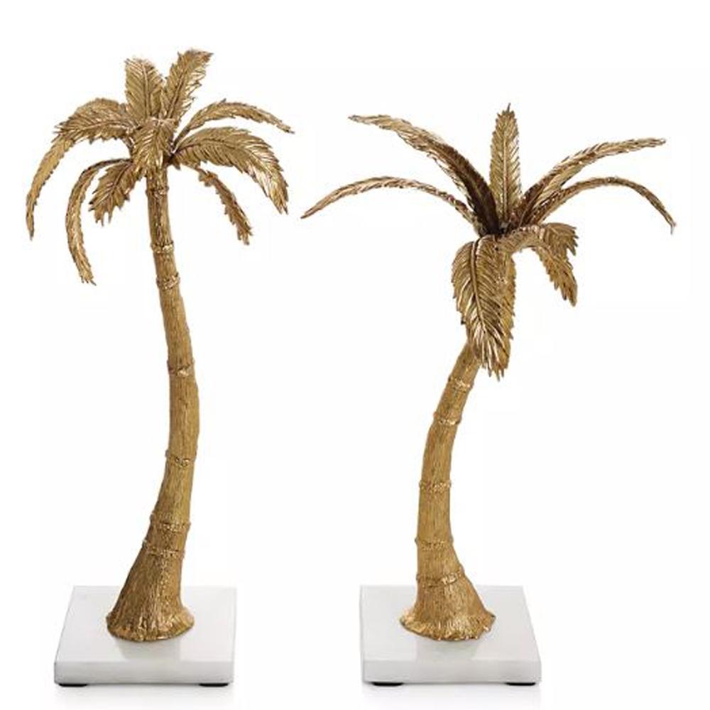 Palm Candleholders