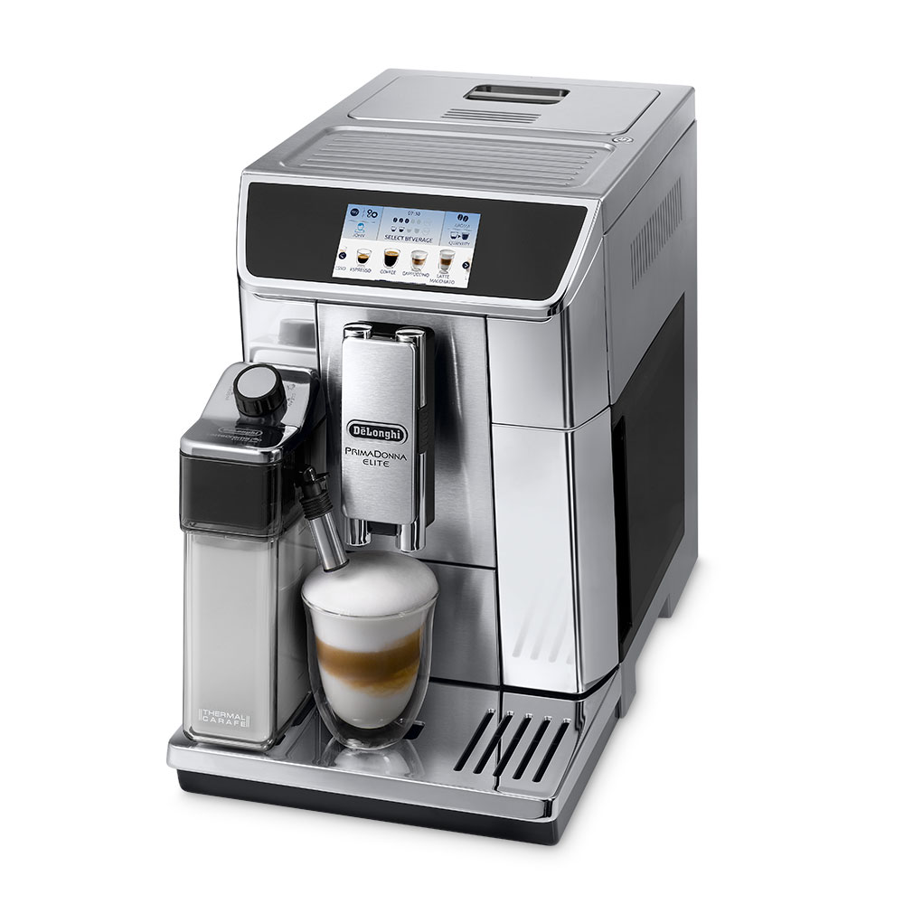 Delonghi Ecam650.75.Ms Coffee Machine Fully-Automatic Metal