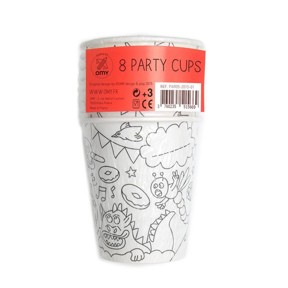 Birthday set - Paper Cups