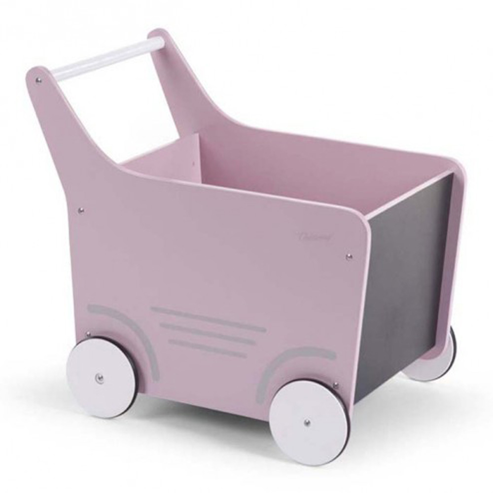 Childhome Wooden Stroller Pink