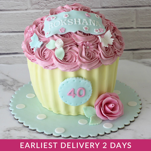 Flower Cupcake Smash Cake