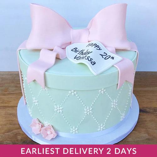 Happy Birthday Gift Cake
