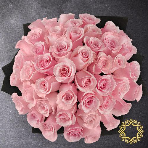 Pink Roses by Rose Privée