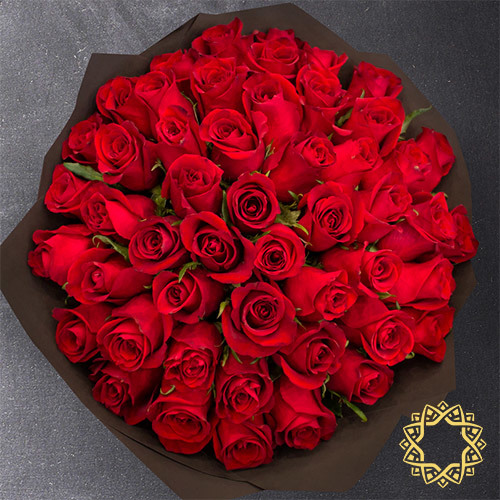 Red Roses by Rose Privée
