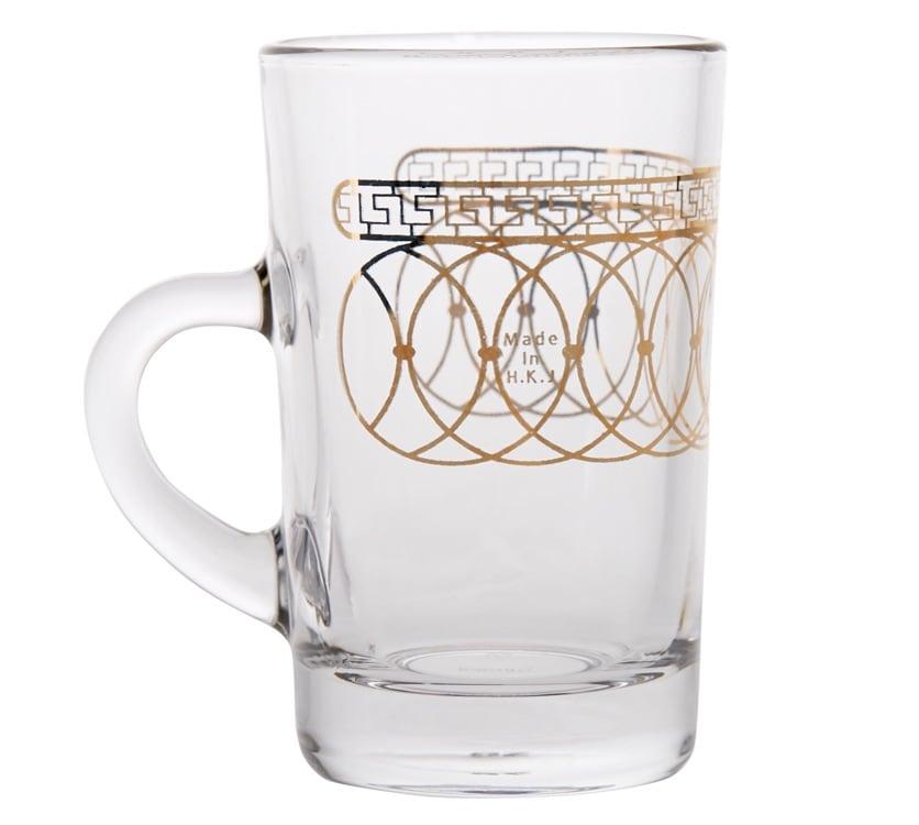 Dimlaj - Tea glass w/ Handle set Nile Gold/6pcs