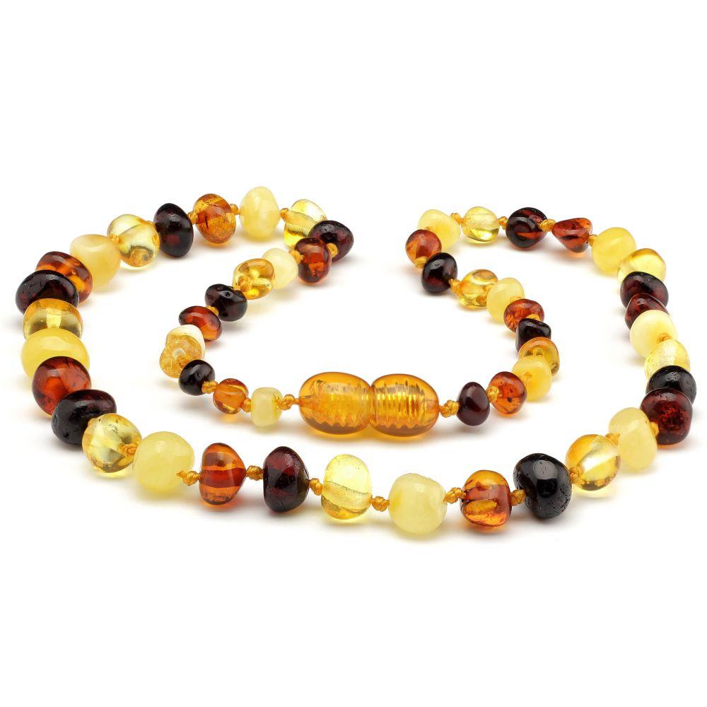 Amber Necklace - Multicoloured