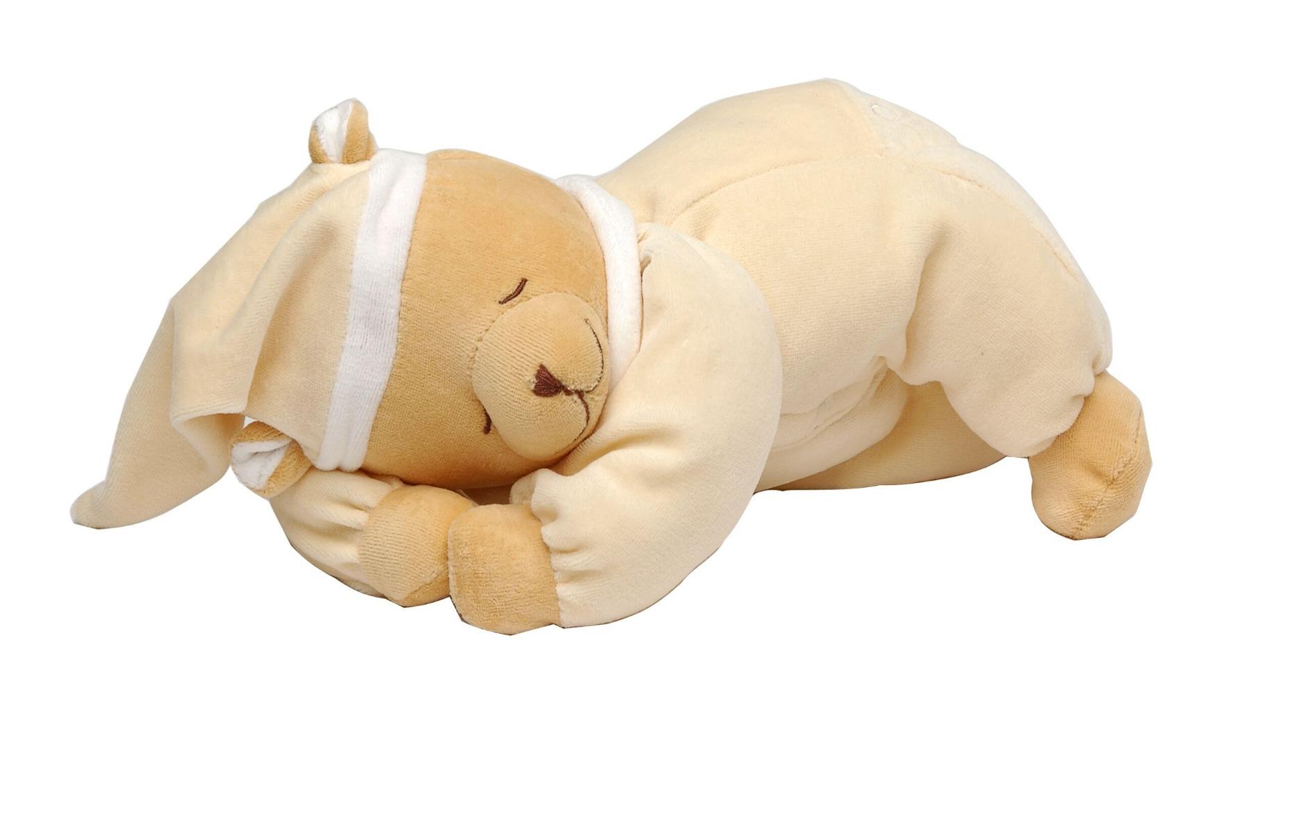 Babiage Back-To-Sleep Baby Monitor Lying Bear Doodoo