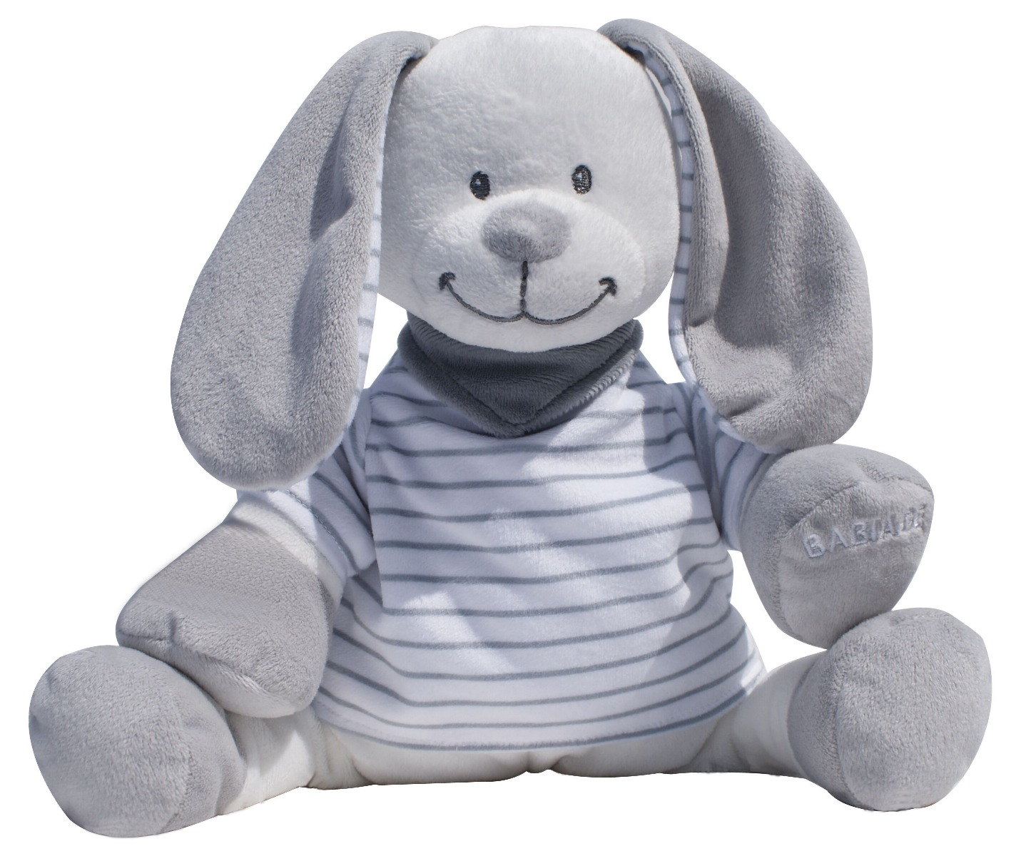 Back-to-sleep baby monitor - Grey Stripes Rabbit Doodoo