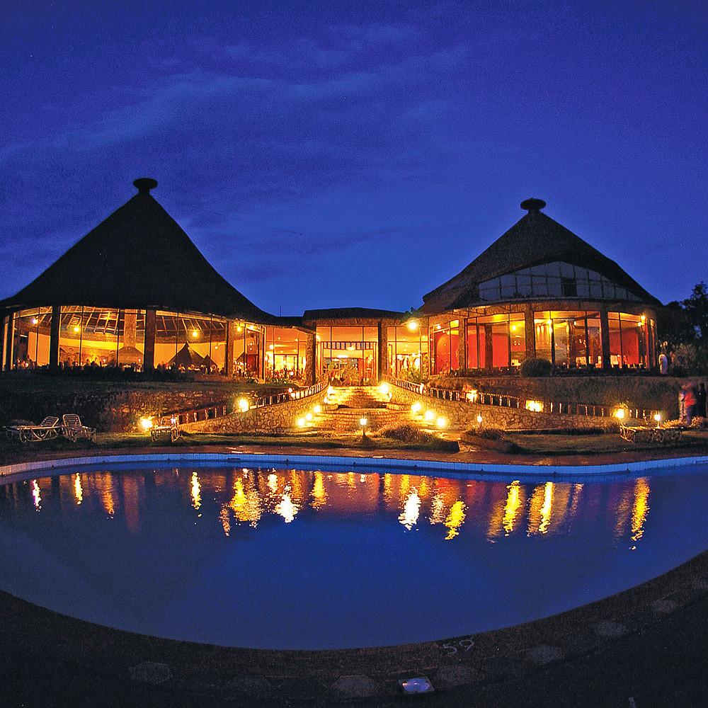 Contribution to Ngorongoro Lodge