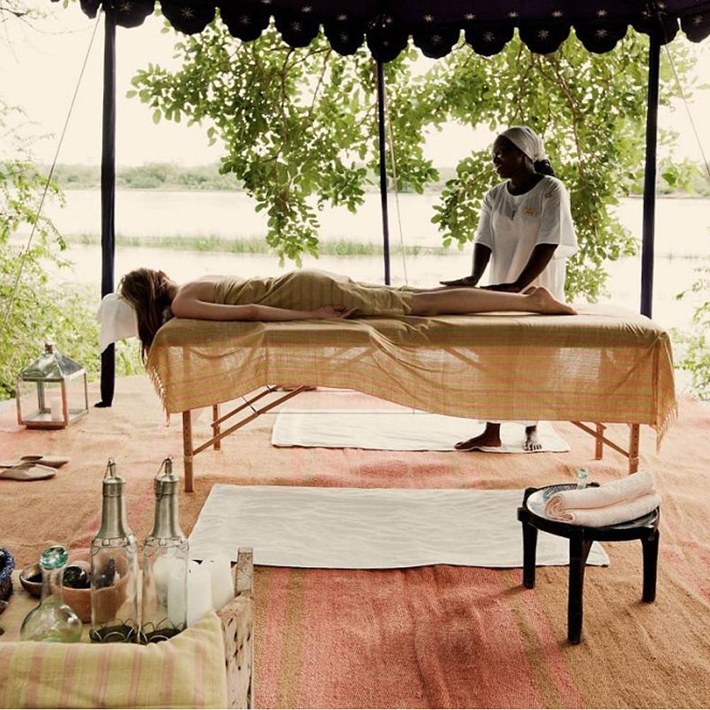 Contribution to Luxury Spa in Ngorongoro