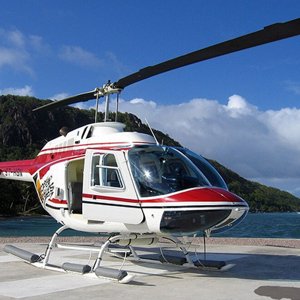 Participation to Seychelles Helicopter Tour