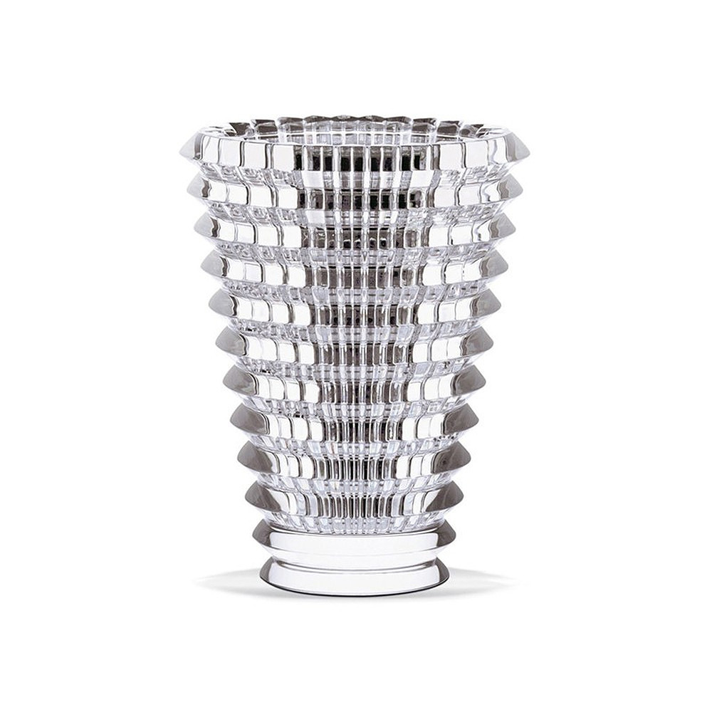 Baccarat Eye Vase Clear Small