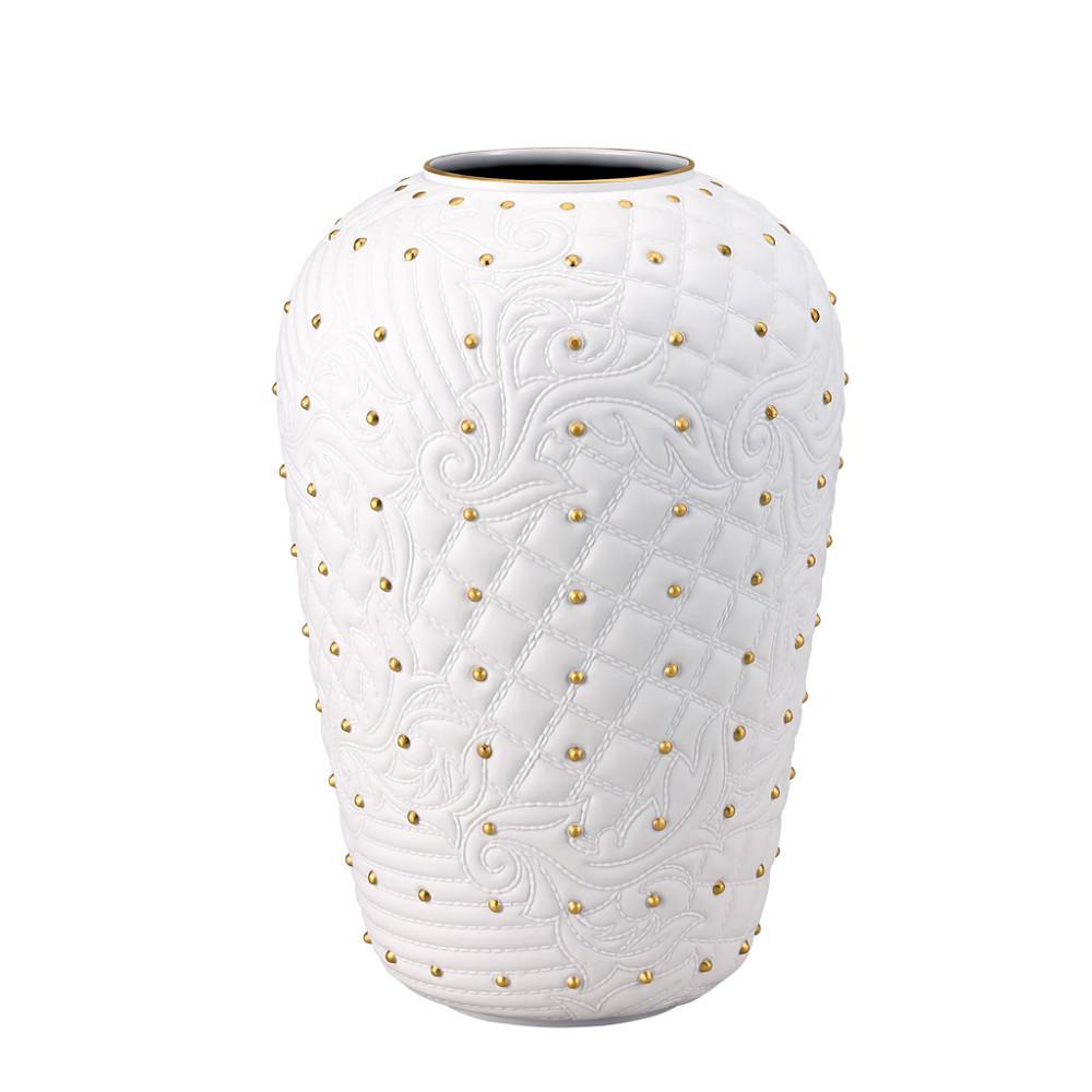 Versace White Vanitas Vase