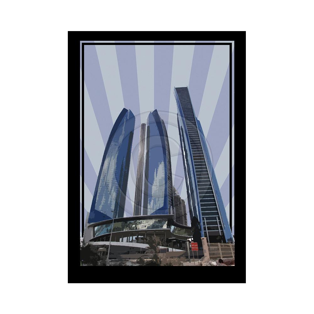 Deco Arabia Etihad Towers A0