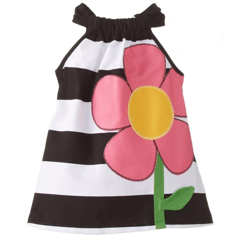 فستان مدباي بصور الورد