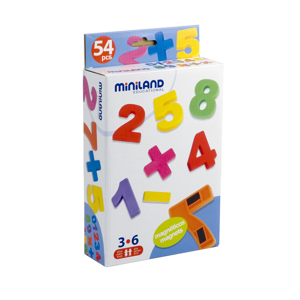 Miniland Magnetic Numbers