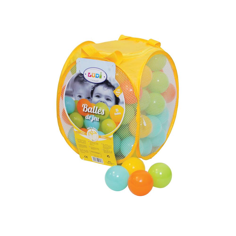 Ludi Assorted Game Balls 75 Pieces