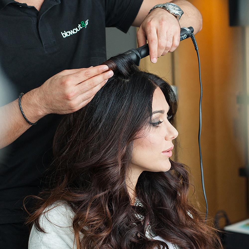 Blowout&Go Hair Service - Semi Updo