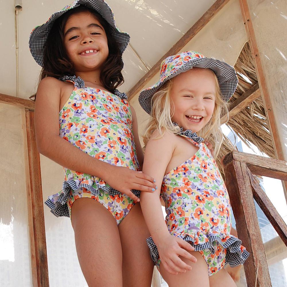 M&R Beachwear Swimwear Poppy With Skirt