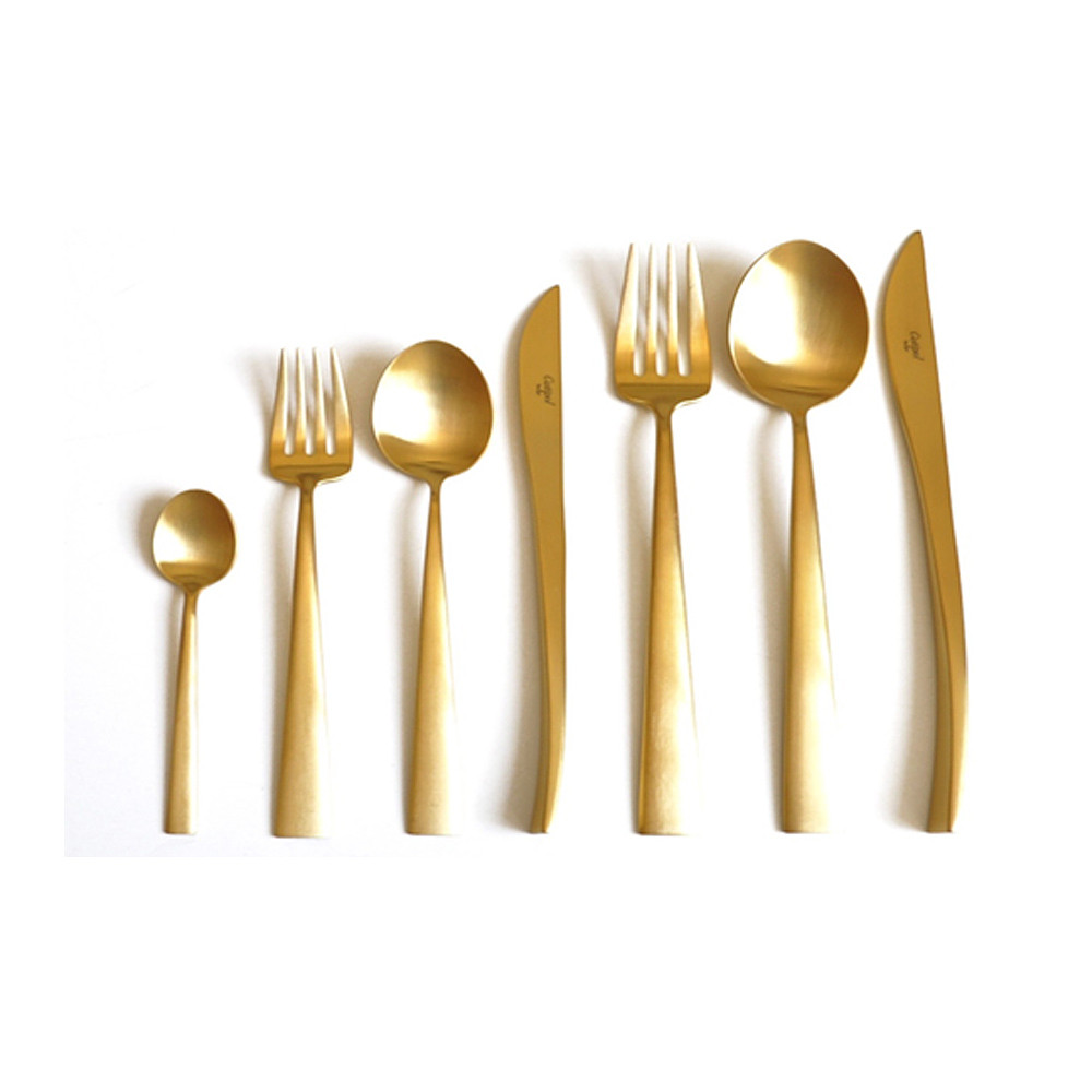 Cutipol Duna 75pcs Gold Brushed