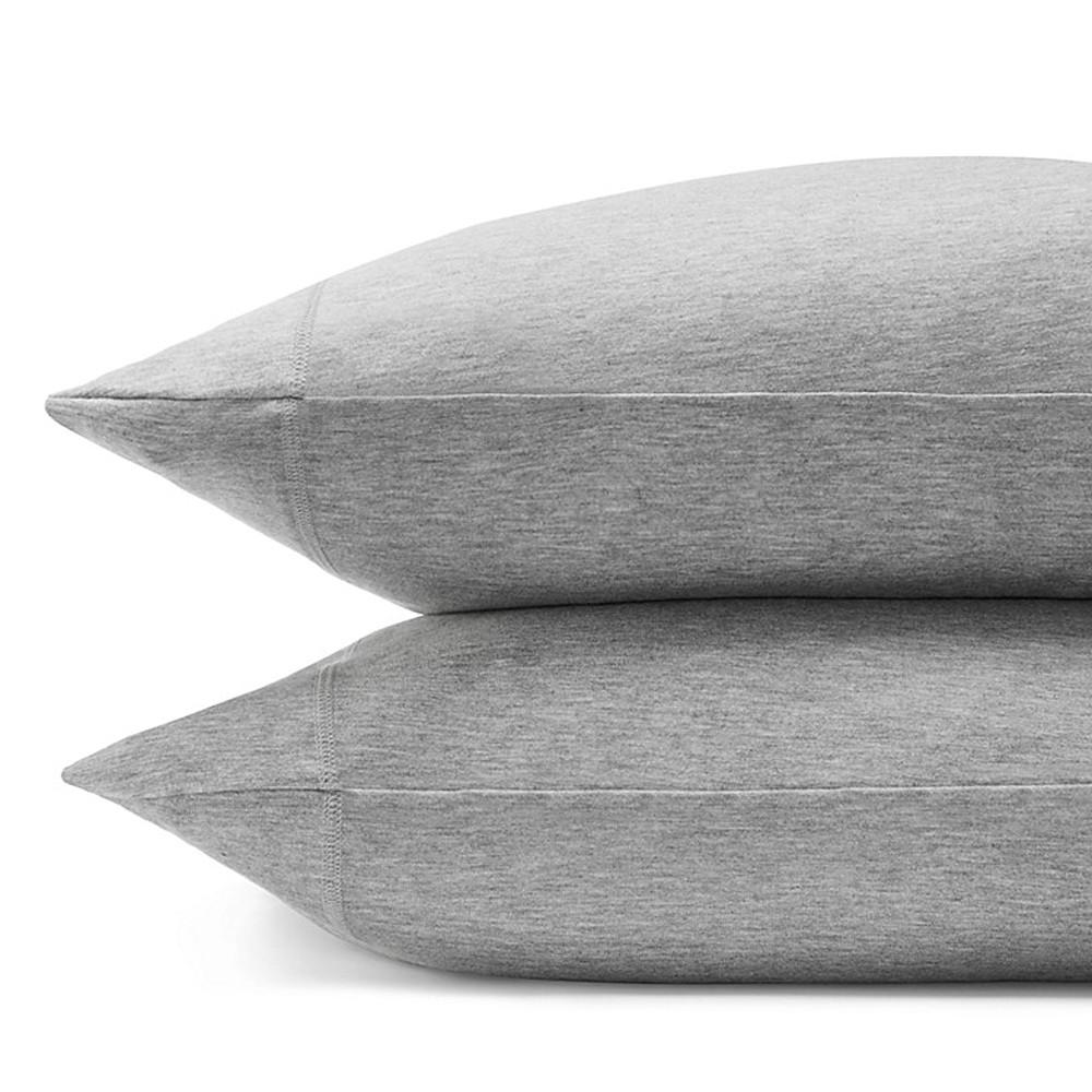 Calvin Klein Pillowcase Grey 50x75 Modern Cotton Jersey Body