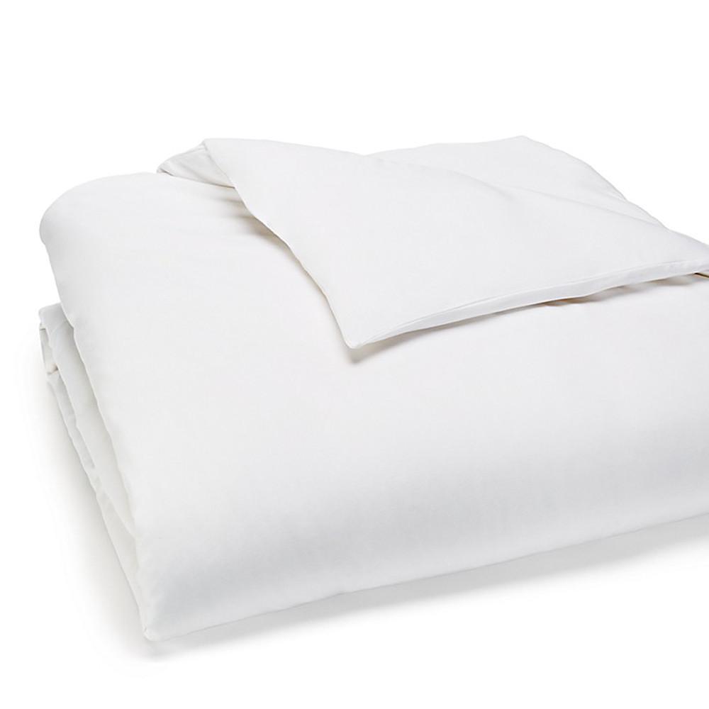 Calvin Klein Duvet Cover White 140x200 Modern Cotton Jersey Body