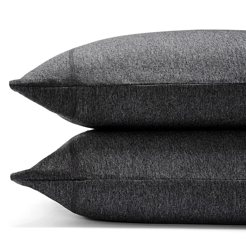 Calvin Klein Pillowcase Charcoal 50x75 Modern Cotton Jersey Body