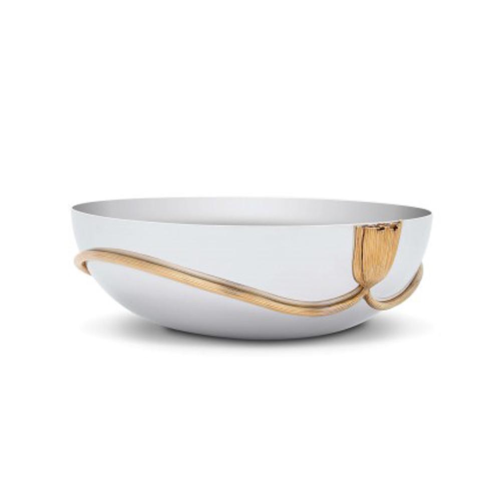 L'Objet Deco Leaves Large Bowl