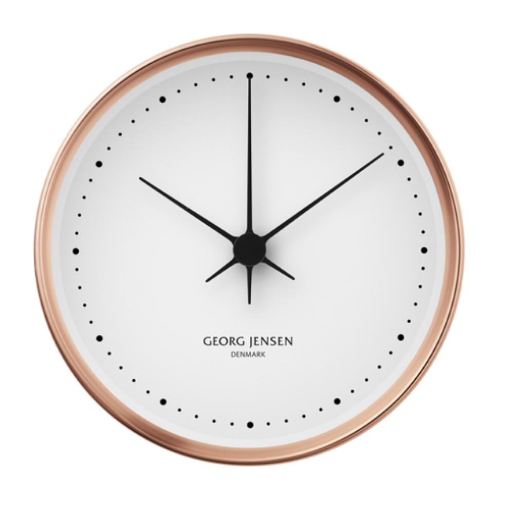 Georg Jensen Koppel Wall Clock Thermo + Holders
