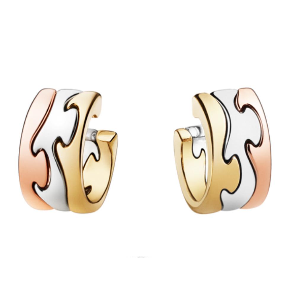 Georg Jensen Fusion Earring 1503 Yg/Wg/Rg