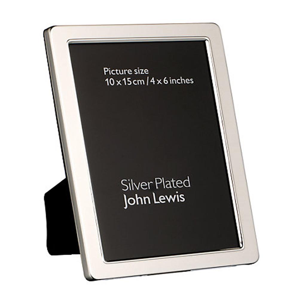 John Lewis Curve Silver Plated Frame 5X713X 8Cm