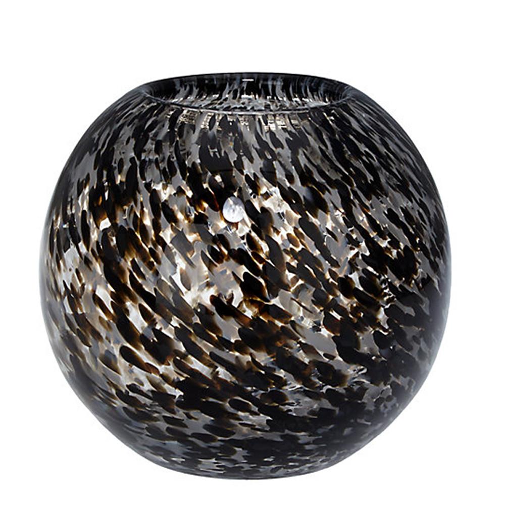 John Lewis Speckle Black Vase 15Cm
