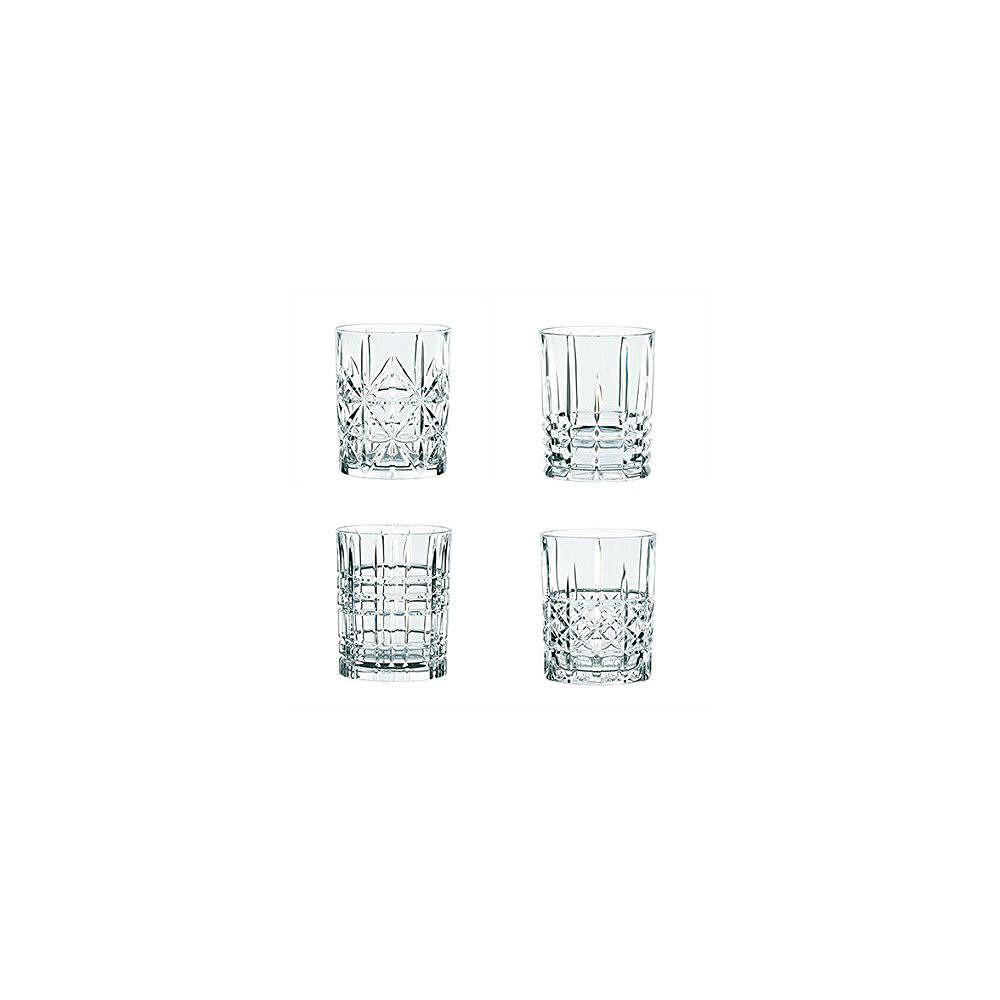 Tavola Highland Assorted Short Tumbler 4pcs Box