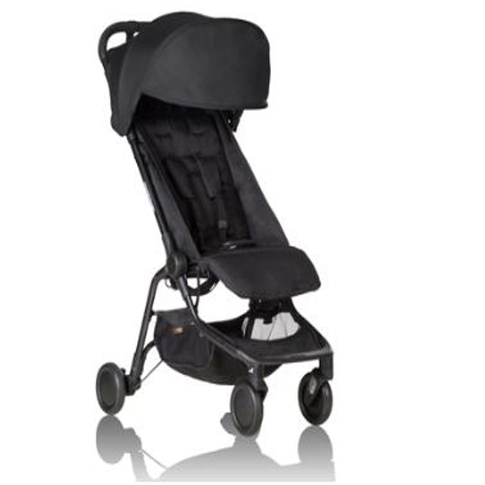 Nano V2 Black With Free Seat Liner And Extra Canopy!