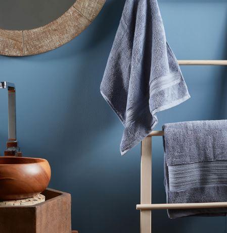 Infinity Bath Sheet-Slate Blue