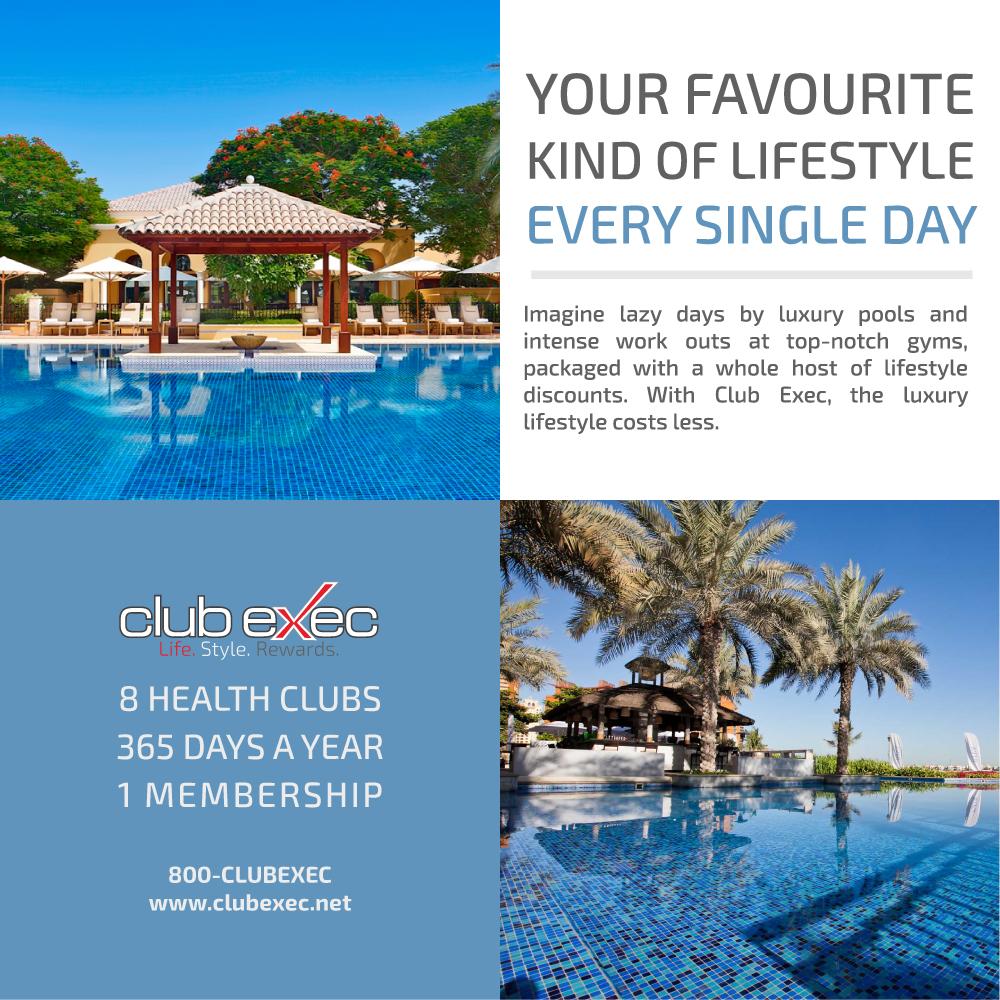 Club Exec Single Membership