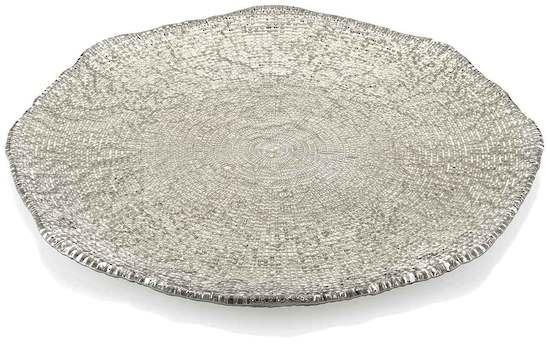 Diamante Platter 37cm Beige