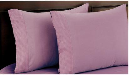 Eternity luxe Pillow Cover Set of 2 50x75cm  Elderberry