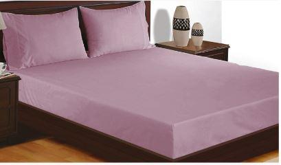 Eternity luxe fitted sheet 200x210x33cm  Elderberry