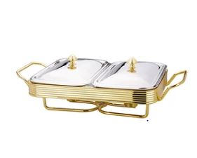 Folio Stainless Steel Warmer 8 pc Set