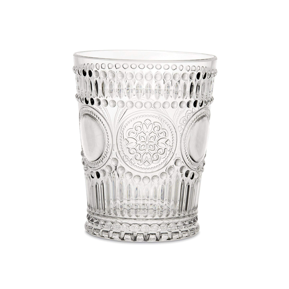 Water Glass Arabesque Neobar Clear
