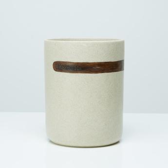 Masaki Textured Hand Painted Waste Bin