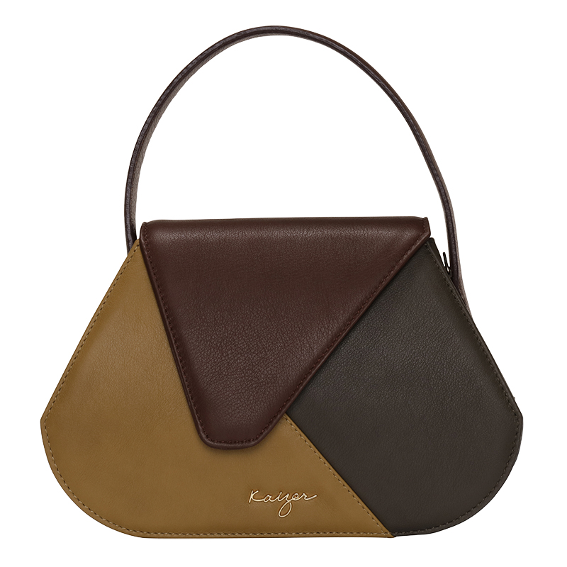 Shadows Leather Tote Hand Bag