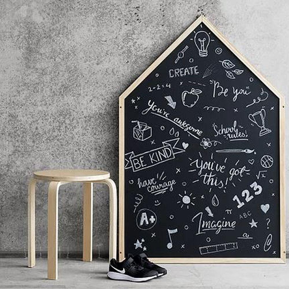 Giant House Shaped Chalkboard