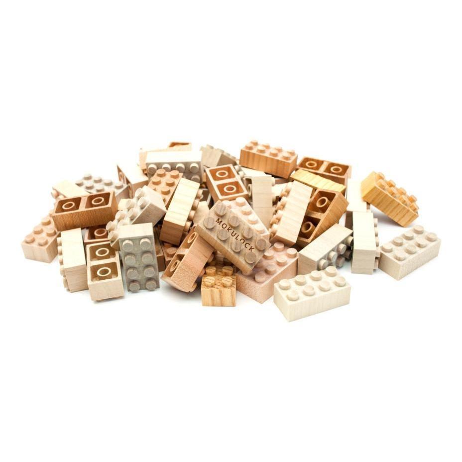 Mokulock Wooden Bricks (24 pieces)