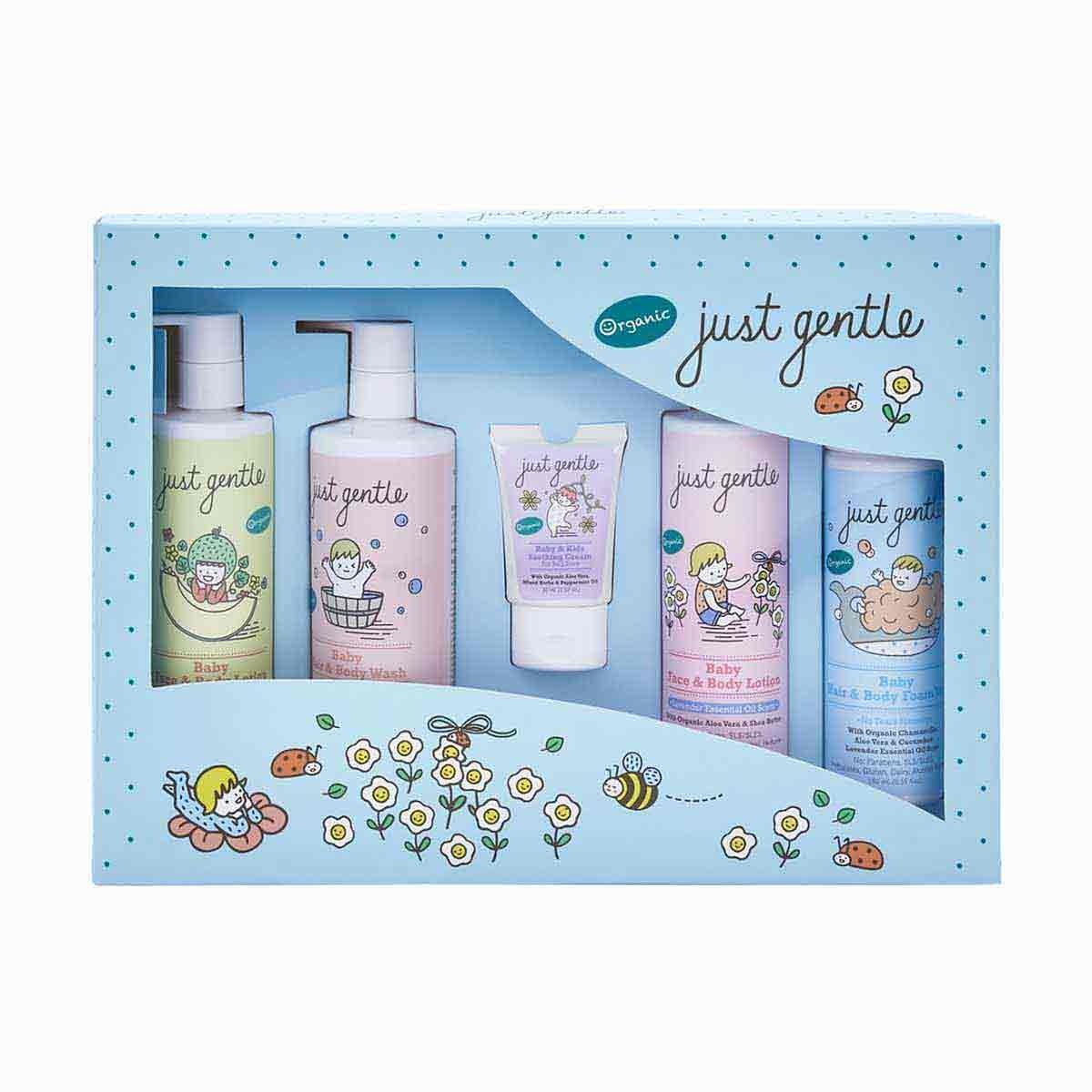 Just Gentle Organic New Born Gift Set
